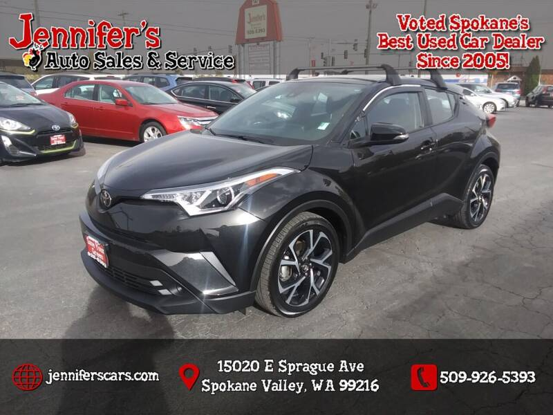 2018 Toyota C-HR for sale at Jennifer's Auto Sales in Spokane Valley WA