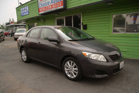 2009 Toyota Corolla for sale at Amazing Choice Autos in Sacramento CA