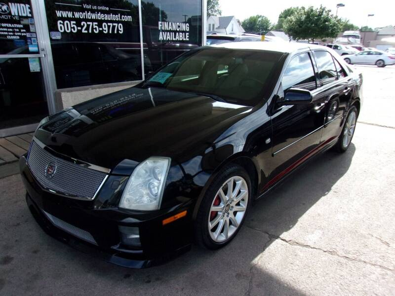 2006 Cadillac STS-V for sale at World Wide Automotive in Sioux Falls SD