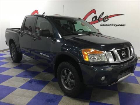 2015 Nissan Titan for sale at Cole Chevy Pre-Owned in Bluefield WV