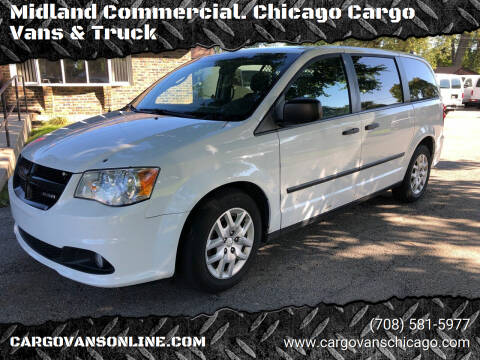 2015 RAM C/V for sale at Midland Commercial. Chicago Cargo Vans & Truck in Bridgeview IL