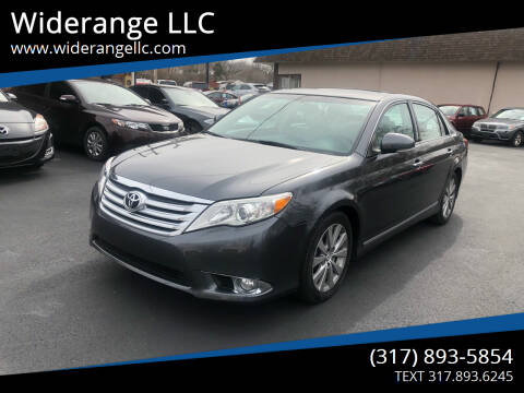 2011 Toyota Avalon for sale at Widerange LLC in Greenwood IN