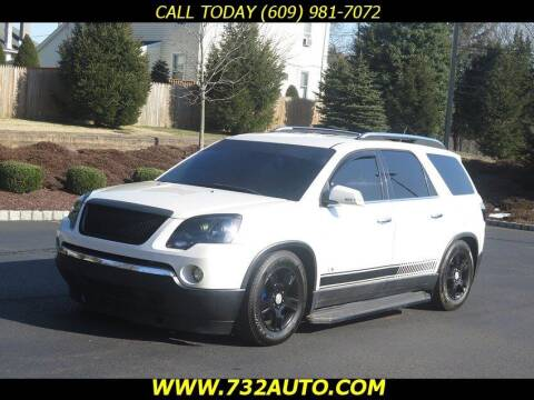 2008 GMC Acadia for sale at Absolute Auto Solutions in Hamilton NJ
