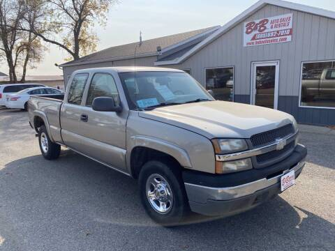 2003 Chevrolet Silverado 1500 for sale at B & B Auto Sales in Brookings SD
