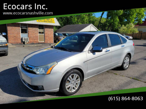 2011 Ford Focus for sale at Ecocars Inc. in Nashville TN