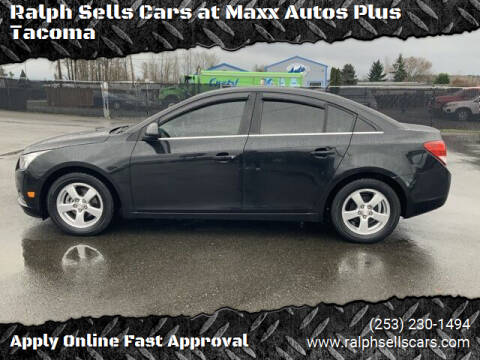 2012 Chevrolet Cruze for sale at Ralph Sells Cars at Maxx Autos Plus Tacoma in Tacoma WA