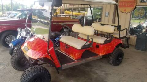 2005 E-Z-GO 6 seater gas for sale at COLLECTABLE-CARS LLC in Nacogdoches TX