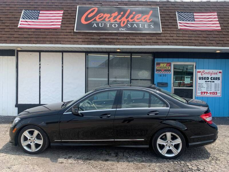 2011 Mercedes-Benz C-Class for sale at Certified Auto Sales, Inc in Lorain OH
