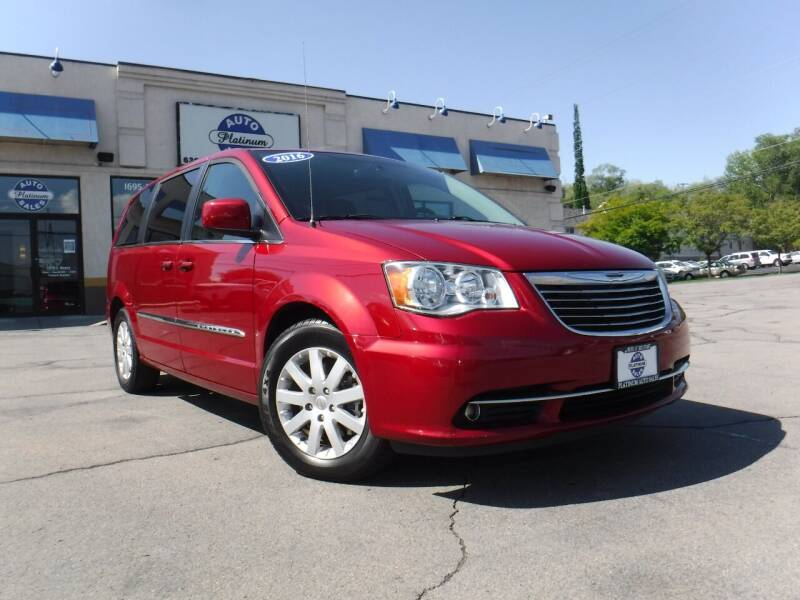 2015 Chrysler Town and Country for sale at Platinum Auto Sales in Provo UT
