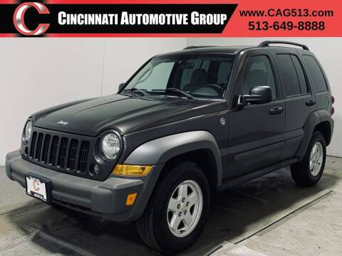2006 Jeep Liberty for sale at Cincinnati Automotive Group in Lebanon OH