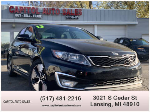 2013 Kia Optima Hybrid for sale at Capitol Auto Sales in Lansing MI