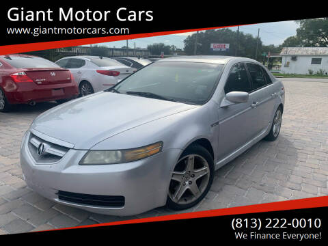 2004 Acura TL for sale at Giant Motor Cars in Tampa FL