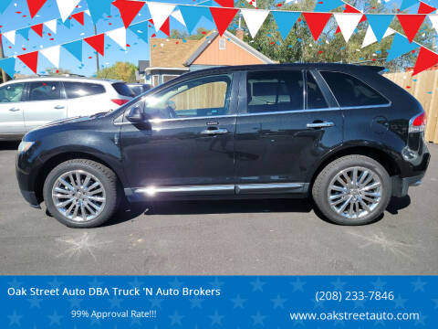 2013 Lincoln MKX for sale at Oak Street Auto DBA Truck 'N Auto Brokers in Pocatello ID