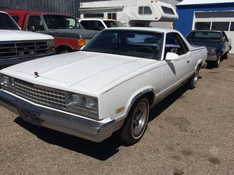 1987 Chevrolet El Camino for sale at AFFORDABLY PRICED CARS LLC in Mountain Home ID