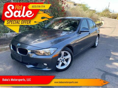 2013 BMW 3 Series for sale at Baba's Motorsports, LLC in Phoenix AZ