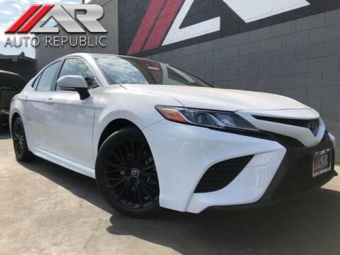 2018 Toyota Camry for sale at Auto Republic Fullerton in Fullerton CA