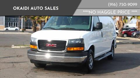 2019 GMC Savana Cargo for sale at Okaidi Auto Sales in Sacramento CA