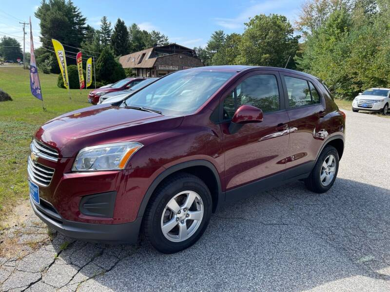 2016 Chevrolet Trax for sale at Downeast Auto Inc in Waterboro ME
