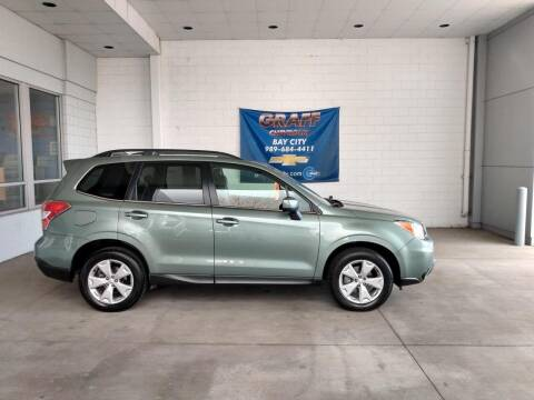 2016 Subaru Forester for sale at GRAFF CHEVROLET BAY CITY in Bay City MI