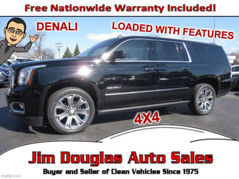 2015 GMC Yukon XL for sale at Jim Douglas Auto Sales in Pontiac MI