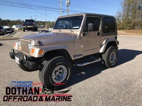 2004 Jeep Wrangler for sale at Dothan OffRoad And Marine in Dothan AL