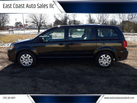 2015 Dodge Grand Caravan for sale at East Coast Auto Sales llc in Virginia Beach VA
