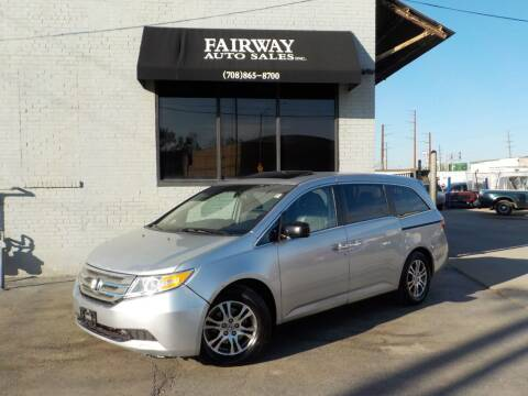 2012 Honda Odyssey for sale at FAIRWAY AUTO SALES, INC. in Melrose Park IL