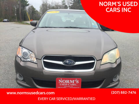 2008 Subaru Legacy for sale at NORM'S USED CARS INC in Wiscasset ME