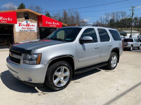 2012 Chevrolet Tahoe for sale at Twin Rocks Auto Sales LLC in Uniontown PA