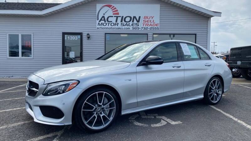 2017 Mercedes-Benz C-Class for sale at Action Motor Sales in Gaylord MI