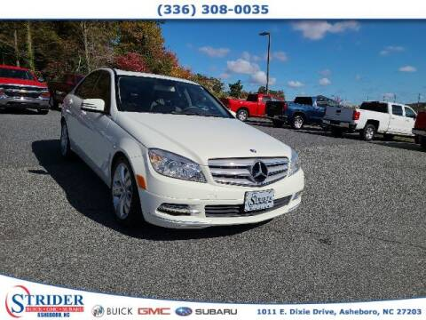 2011 Mercedes-Benz C-Class for sale at STRIDER BUICK GMC SUBARU in Asheboro NC