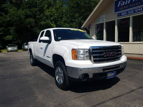 2013 GMC Sierra 1500 for sale at Fairway Auto Sales in Rochester NH