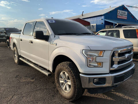 2016 Ford F-150 for sale at 4X4 Auto in Cortez CO