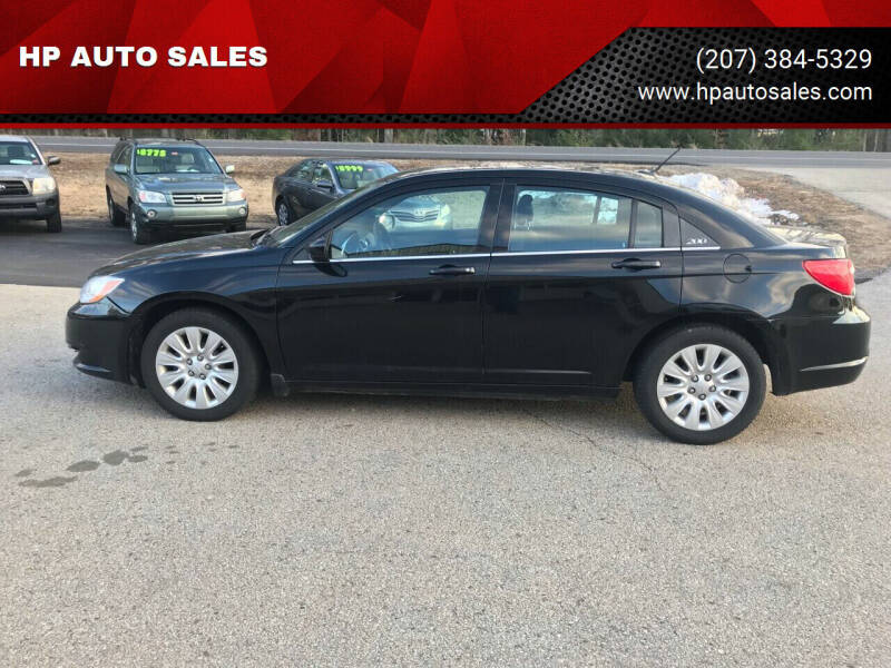 2013 Chrysler 200 for sale at HP AUTO SALES in Berwick ME
