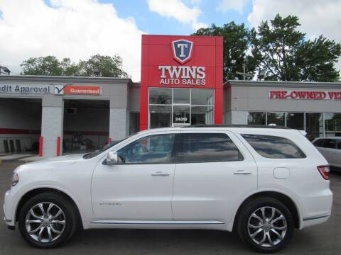 2017 Dodge Durango for sale at Twins Auto Sales Inc - Detroit in Detroit MI