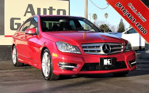 2012 Mercedes-Benz C-Class for sale at H1 Auto Group in Sacramento CA