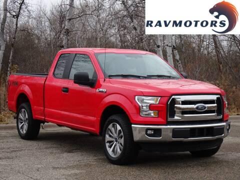 2016 Ford F-150 for sale at RAVMOTORS in Burnsville MN