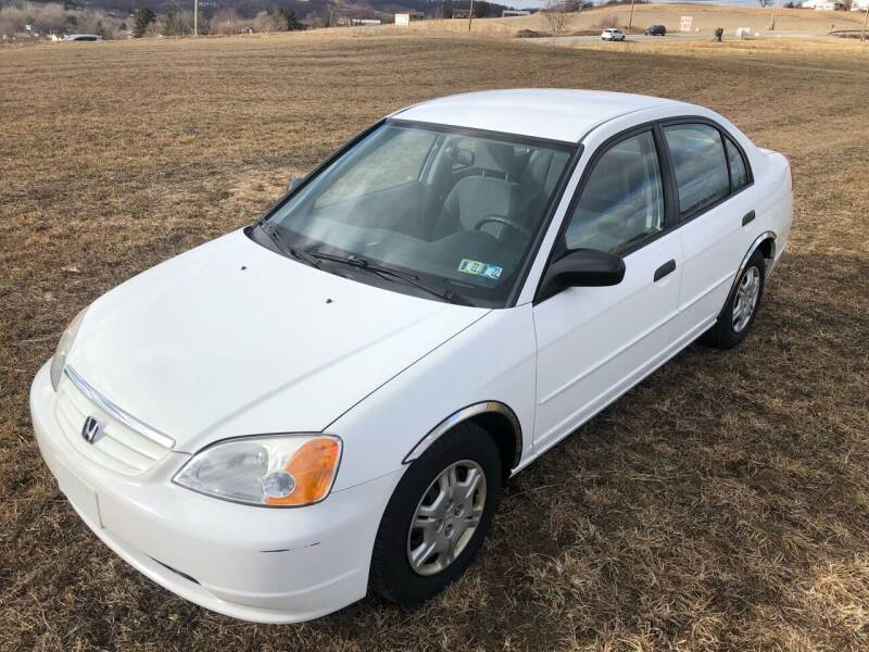 2001 Honda Civic for sale at Linda Ann's Cars,Truck's & Vans in Mount Pleasant PA