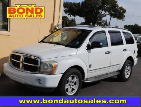 2006 Dodge Durango for sale at Bond Auto Sales in St Petersburg FL