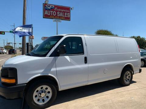 2014 Chevrolet Express Cargo for sale at SP Enterprise Autos in Garland TX