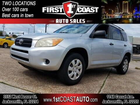 2006 Toyota RAV4 for sale at 1st Coast Auto -Cassat Avenue in Jacksonville FL