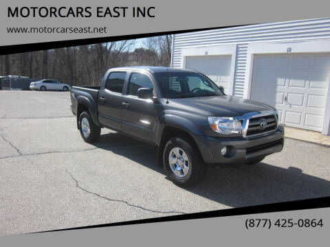 2010 Toyota Tacoma for sale at MOTORCARS EAST INC in Derry NH