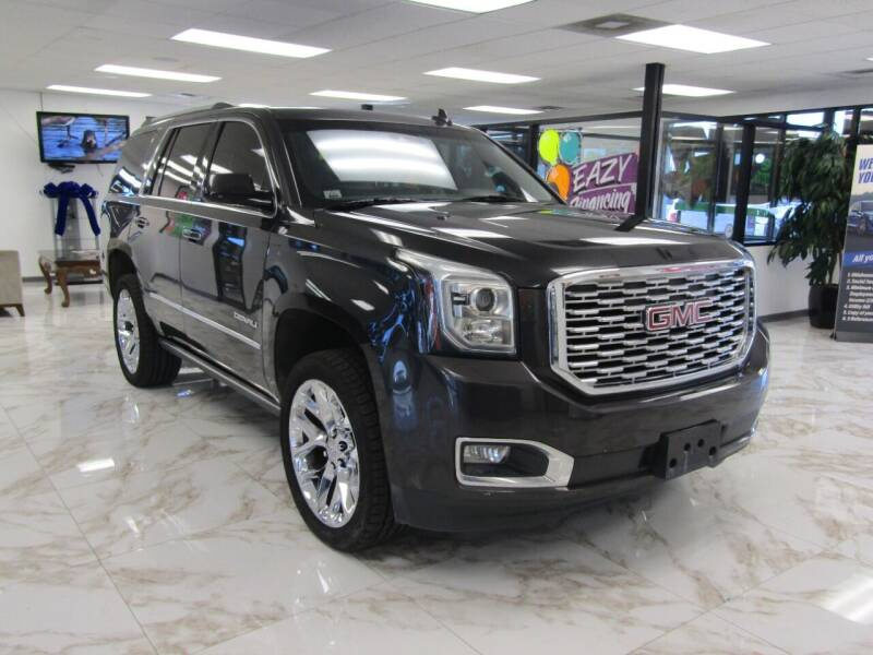 2017 GMC Yukon for sale at Dealer One Auto Credit in Oklahoma City OK