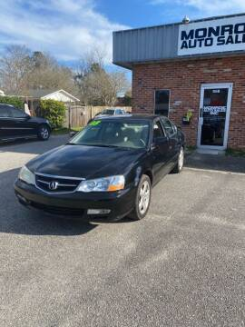 2003 Acura TL for sale at Monroe Auto Sales Inc in Wilmington NC