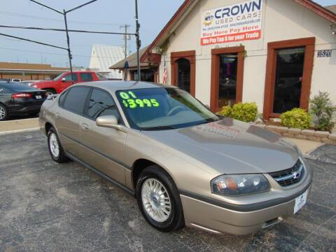 2001 Chevrolet Impala for sale at Crown Used Cars in Oklahoma City OK