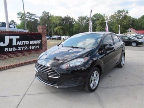 2017 Ford Fiesta for sale at J T Auto Group in Sanford NC