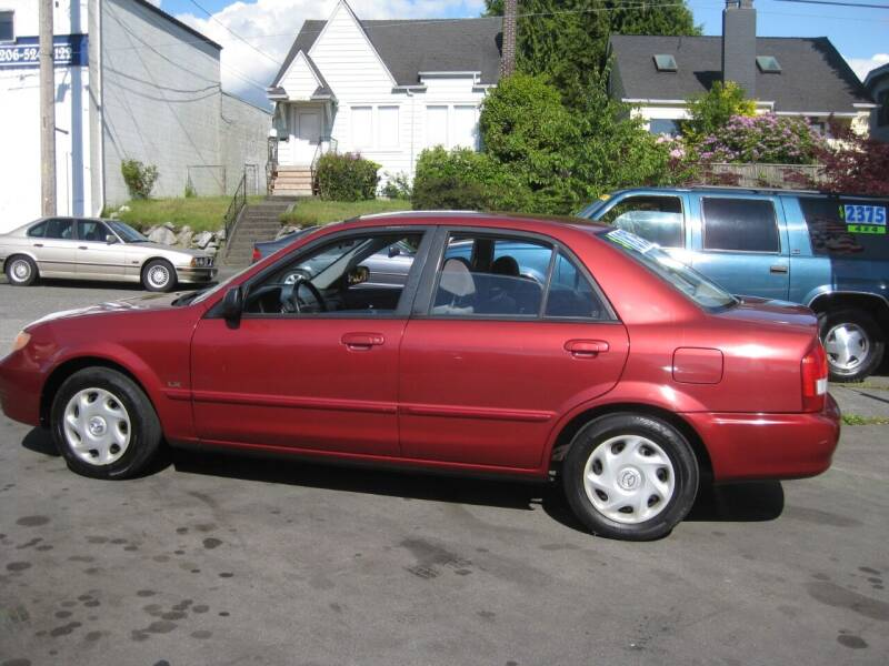 2001 Mazda Protege for sale at UNIVERSITY MOTORSPORTS in Seattle WA