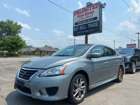 2013 Nissan Sentra for sale at Unlimited Auto Group in West Chester OH