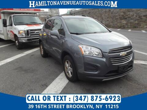 2015 Chevrolet Trax for sale at Hamilton Avenue Auto Sales in Brooklyn NY