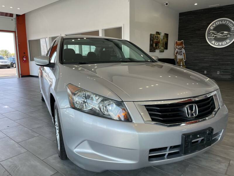 2009 Honda Accord for sale at Evolution Autos in Whiteland IN
